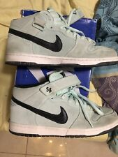 low priced 0f89d d556c item 4 Nike Sb Dunk Mid Pro Ice Green Dark Charcoal Blue Size 11 Rare mint  heat suede -Nike Sb Dunk Mid Pro Ice Green Dark Charcoal Blue Size 11 Rare  mint ...