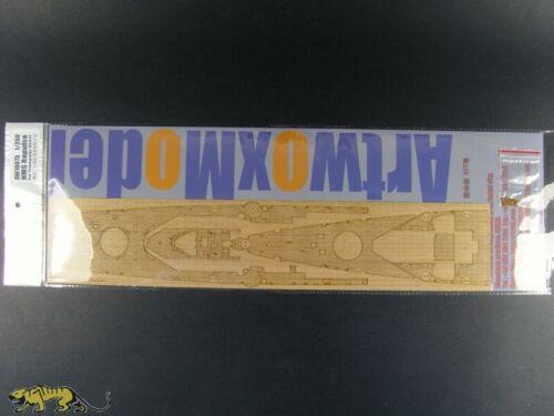 Trumpeter 05312 AW10075 Artwox Holzdeck für 1:350 HMS Repulse