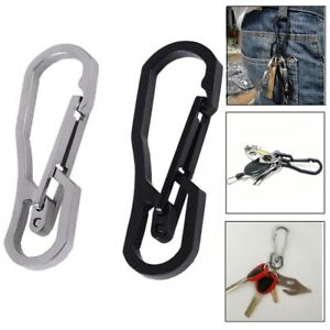 Accessories-Key-Ring-Hook-Camping-Clip-Climbing-Carabiner-Keychain-Holder