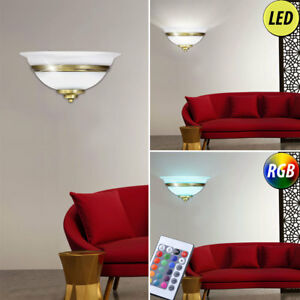 LED wall lamp dining room lighting dimmable RGB remote control old ...