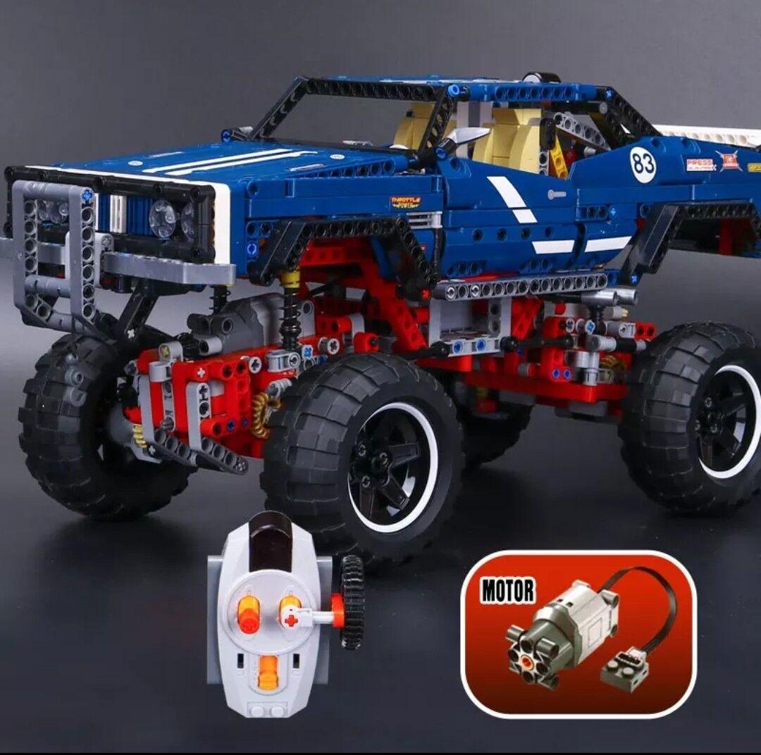 4x4 CRAWLER EXCLUSIVE radiocomandato 41999  100% Lego Technic Compatibile  NUOVO