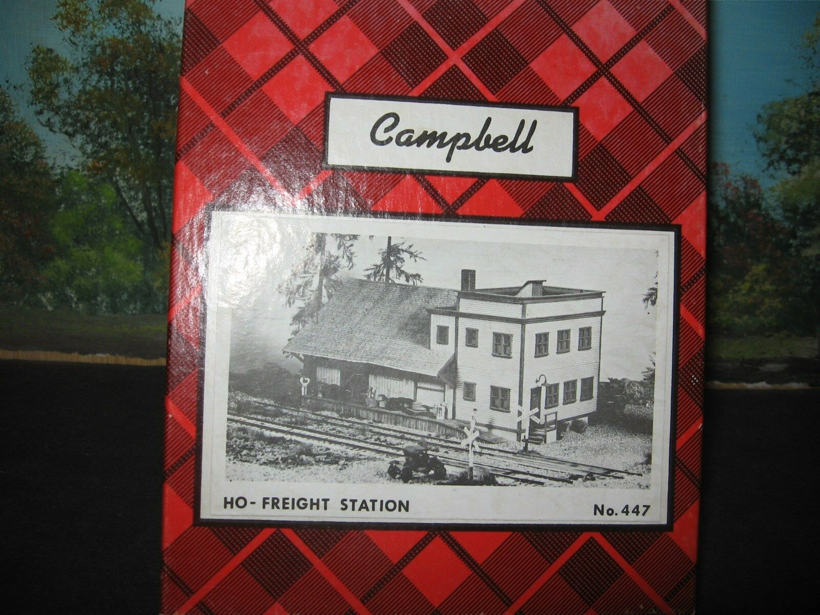 CAMPBELL SCALE MODELS HO-FREIGHT STATION