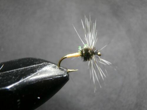 1 DOZEN  DRY FLIES LIGHT ORANGE FOR FLY FISHING-SEC 19