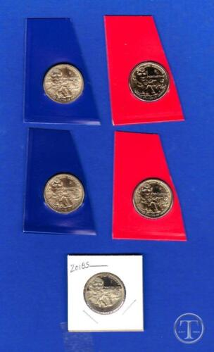 PD AB 2018 P D and S Position  A and B Sacagawea Native American Dollars Set