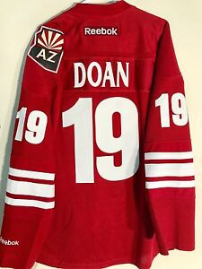 cheap for discount d3258 a1cec Details about Reebok Premier NHL Jersey Arizona Coyotes Shane Doan Burgundy  sz M