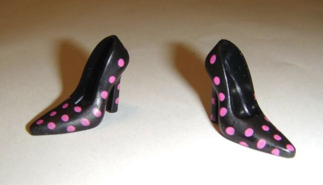 Barbie Doll Sized Fashion Shoes Heels For Model Muse Dolls sh194