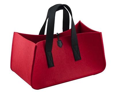 Filztasche, Einkaufstasche, Mehrzwecktasche, Handtasche, Shopper, rot, NEU