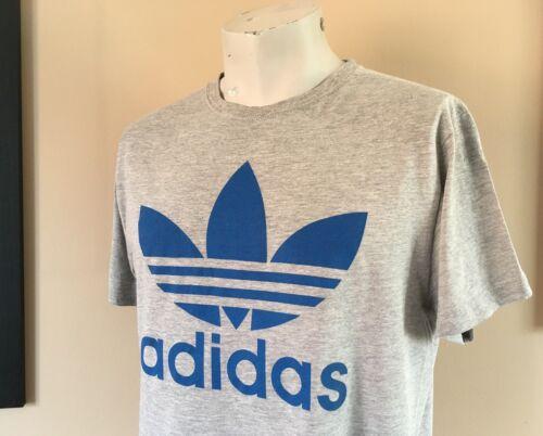 Gris Equipement shirt Medium Retro Vintage T Originals Taille Adidas Tee QCsxtrdh