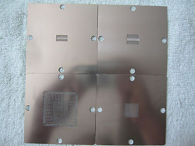 9*9 PS4 CXD90025G CXD90026G K4B2G1646E-BCK0 K4G41325FC-HC03 BGA Stencil Template
