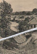 Bei Pressburg - Bratislava - Slowakisches Dorf  - um 1935 - selten - O 5-1