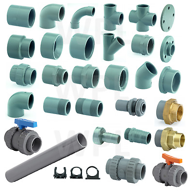 ABS PIPEWORK PIPE FITTINGS SOLVENT WELD FOR CHILLED WATER FOOD BEVERAGE  SYSTEM | eBay