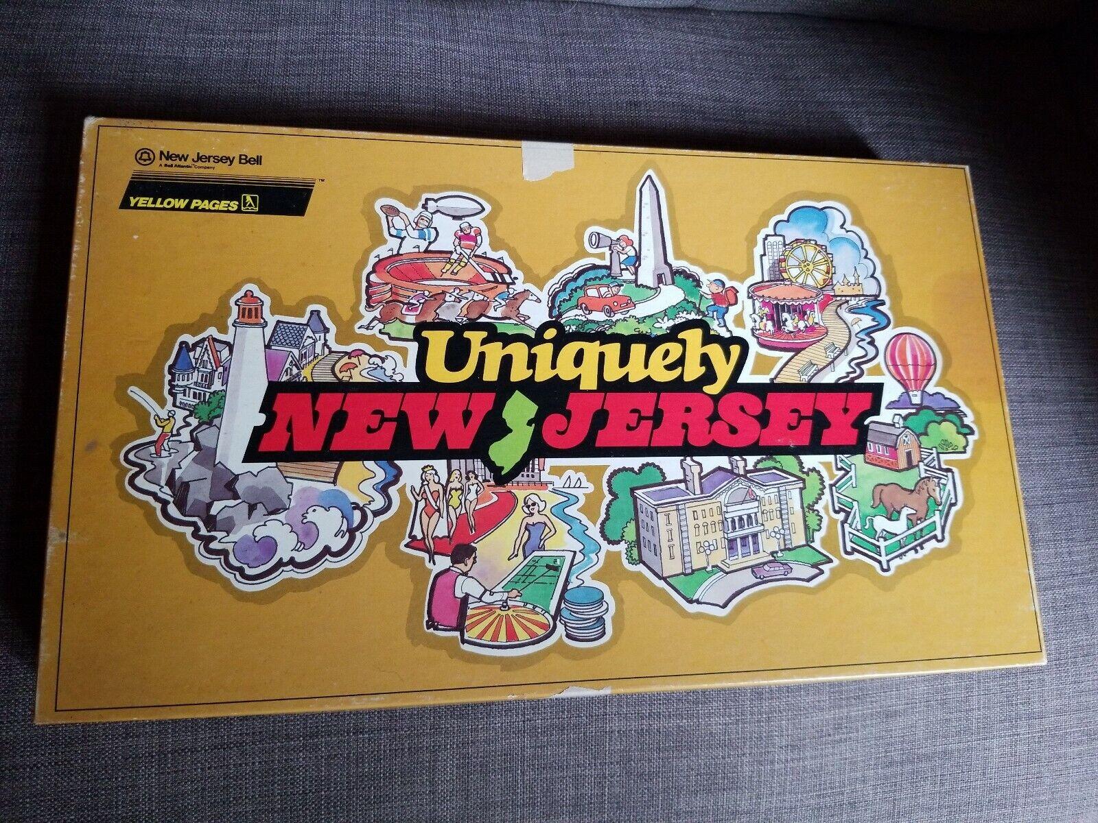 Exclusiva Nueva Jersey manglers Juego De Mesa Vintage 1986 Alto Punto Cape puede Trivia