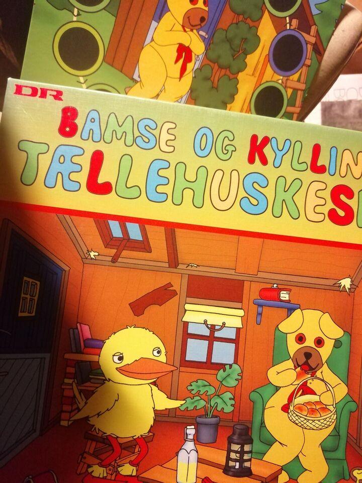 Bamse og kylling: ludo, tællehuskespil, eventyrsp