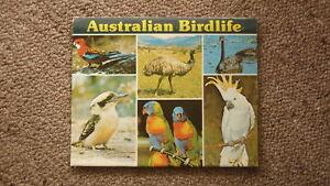 OLD-AUSTRALIAN-POSTCARD-VIEW-FOLDER-1980s-AUSTRALIAN-BIRDLIFE
