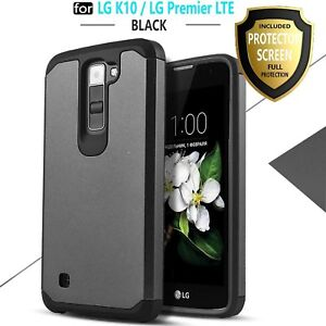 low priced 841a2 c8548 Details about LG K10 Phone Case, LG Premier LTE Case, [Premium Screen  Protector Included]