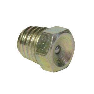 DIN 3405 D1 Trichterschmiernippel Stahl verzinkt 10 Stück M8 x 1,0