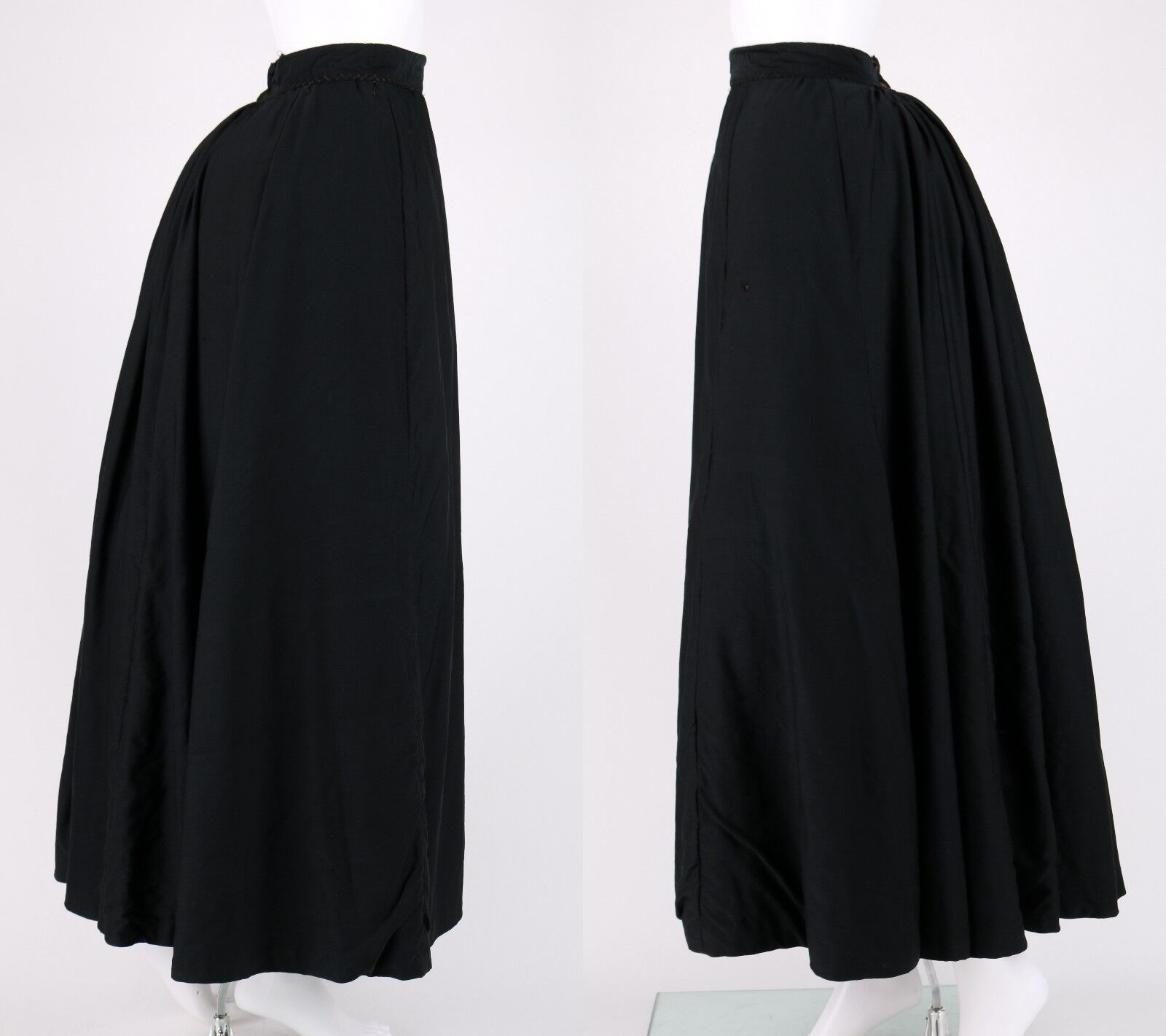 VICTORIAN Couture c.1890's Bodice Bustle Skirt Dr… - image 6