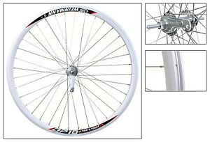 Wheel-Rear-700c-Weinmann-DP18-Silver-NMSW-36-Coaster-Brake-Shimano-Silver