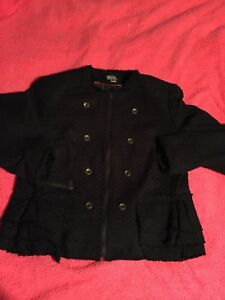 worthington-womens-ZIP-Up-Jacket-Size-XL-Really-Cute