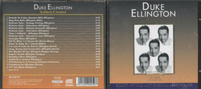 CD Duke Ellington - Suddenly it Jumped