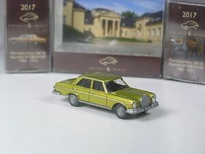 Wiking-C-amp-I-Sondermodell-Mercedes-280-SE-gold-metallic