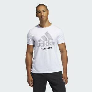 BRAND-NEW-30-adidas-Men-039-s-ATHLETICS-THE-GO-TO-T-SS-Toronto-Tee-FR6684-WHITE