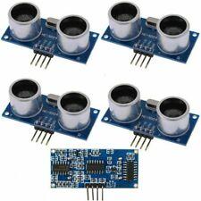 5 Pcs Hc Sr04 Ultrasonic Module Distance Measuring Transducer Sensor For Arduino