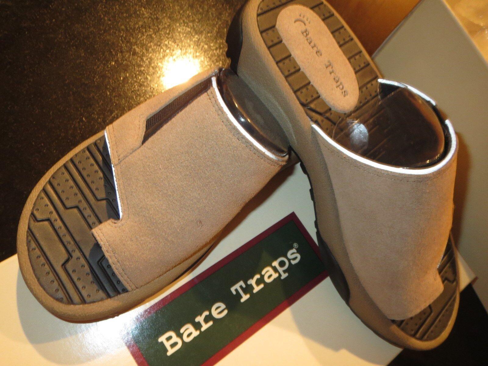 Marca Nueva Bare Traps Sandalias De Mujer Talla Talla Talla 6 M-gris Topo Gamuza-Home Run Zapatillas  ahorra hasta un 70%