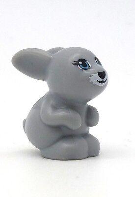 *NEW* Lego White Rabbit Bunny Fig Minifig Figure Animal Pet  x 1 piece