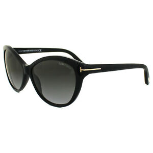 15073f44bb Tom Ford Sunglasses 0325 Telma 01P Shiny Black Green Gradient ...