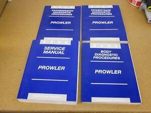 1997 1998 1999 Plymouth Prowler Shop Service Repair Manual Engine Drivetrain OEM