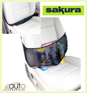 Seat Storage Net Uninversal Sakura Vehicle Seat Band Organiser