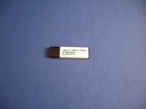 USB STICK MIT 30 REGISTRATIONEN STIMMUNG//KARNEVAL YAMAHA TYROS2//TYROS3//TYROS4