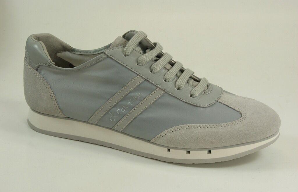Calvin Klein Sneakers Monty Nylon Suede Herren Schuhe Schnürschuhe O10609