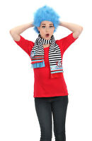 Dr. Seuss Thing 1 And Thing 2 Wig Blue