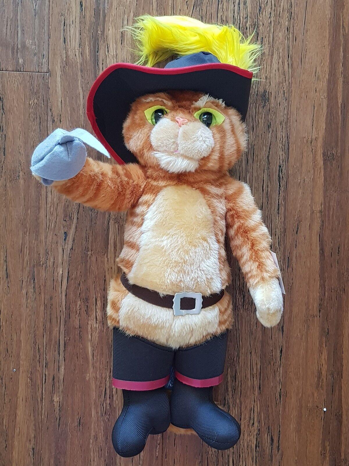 Dreamworld Shrek Puss in Boots Plush Soft Stuffed Doll Toy 16'' 40 cm
