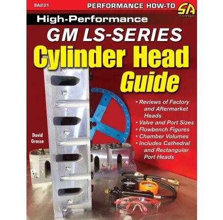 High-Performance GM LS Cylinder Head Port Polish Air Flow Manual Book SA231