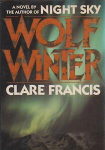 Popular-Fiction-Hardcover-Dustjacket-WOLF-WINTER-by-CLARE-FRANCIS