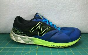 new balance hombre azul y verde