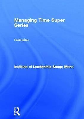 (Good)-Managing Time Super Series (ILM Super Series) (Paperback)--0750658770