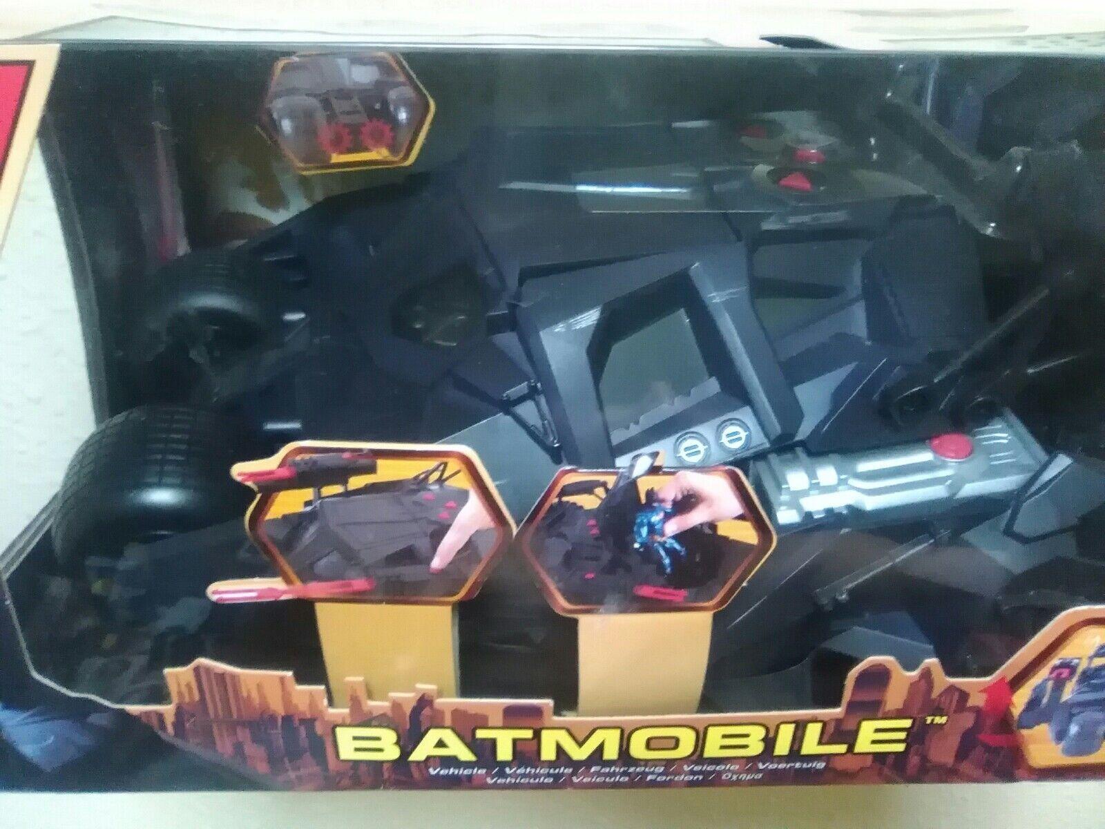 BATMOBILE - TUMBLER - ACROBATA - BATMAN BEGINS - MATTEL - NUEVO A ESTRENAR