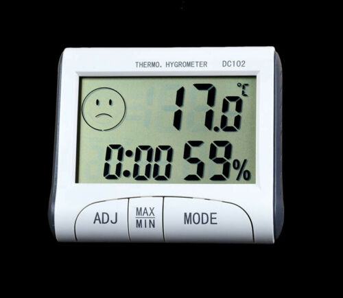 Indoor Room Digital LCD Temperature Humidity Meter Thermometer Hygrometer