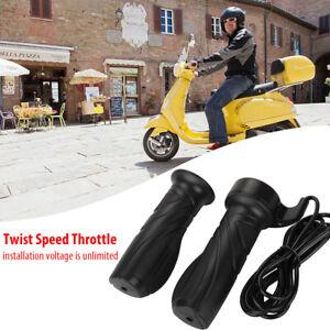 Electric E Scooter Bike Twist Throttle Control Grip Handle Engine Mtoro Parts