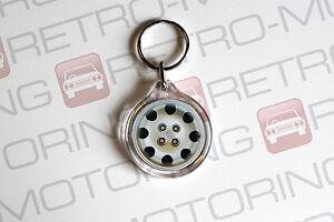 Peugeot-205-GTI-Keyring-Speedline-Wheel-Style-Retro-Car-Keychain
