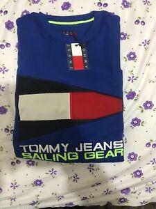 Tommy-Jeans-90s-Sudadera-Jumper-Bandera-De-Engranaje-De-Vela-Tamano-S-M-L-XL-Venta-Venta
