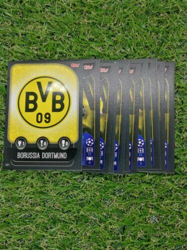 Match Attax Uefa Champions League 2019//20 Alle 16 Basis Karten Borussia Dortmund