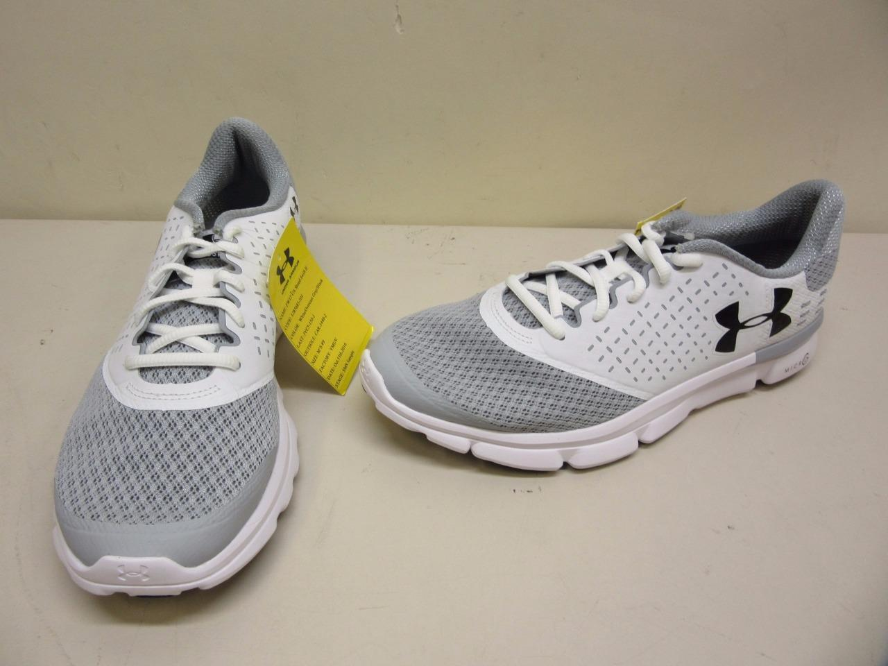 Men's Under Armour FW17 Speed Swift II SMS Sample Athletic Shoe- Size 9 Gray