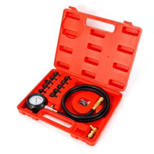 Öldruckmesser Öldrucktester Auto Motor Öldruck messen prüfen Kfz Werkzeug Set