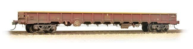 Bachuomon 38-245A MOA Low-Sided Bogie scatola Wagon EWS Weatherosso OO OO OO Gauge 2c1dd5