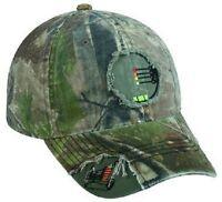 Realtree Camo 4 Pin Bow Sight Crosshairs / Archery Hunting Hat / Cap -
